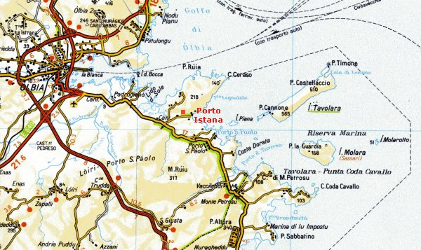 Cartina Sardegna Golfo Aranci.Sardegna Localita Porto Istana Olbia Appartamento In Affitto